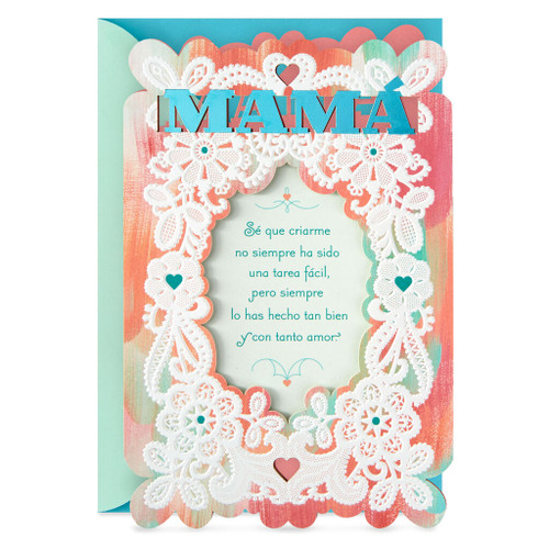 Better Because of You Spanish-Language Mother's Day Card