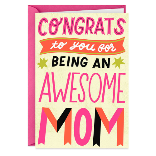 Congrats to Us Funny Mother's Day Card