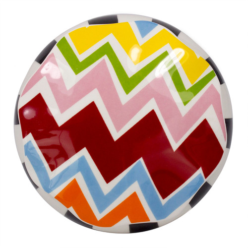 Coton Colors Bargello Covered Box Blank Round