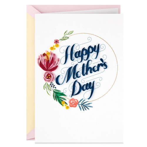 I'm So Grateful Frameable Art Mother's Day Card