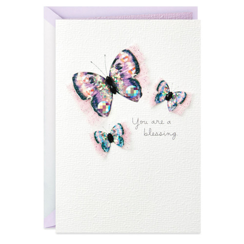 You Are a Blessing Butterflies Mother's Day Card