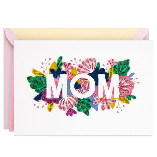 Celebrating You Today and Always Frameable Mother's Day Card