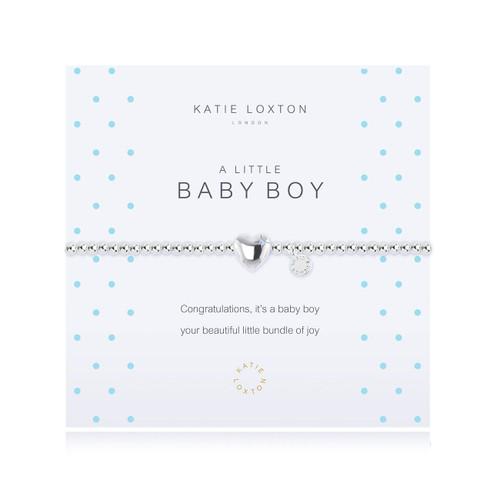 a little BABY BOY - bracelet