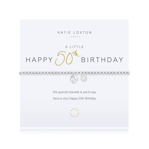 a little 50TH BIRTHDAY - bracelet