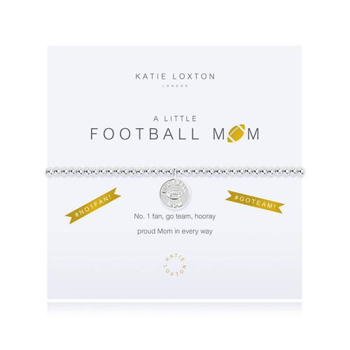 a little FOOTBALL MOM (USA) - bracelet