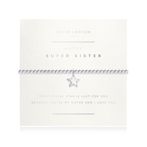 Facetted A Little - Super Sister - Silver - 17.5cm stretch