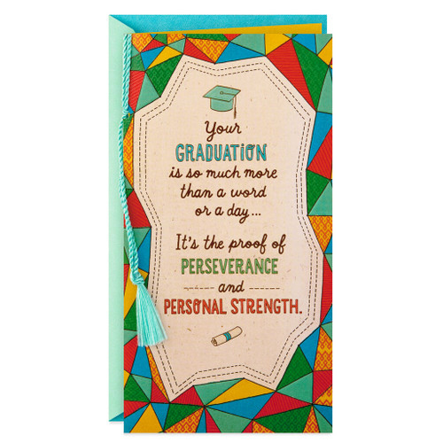 Good Things to Come Money Holder Graduation Card