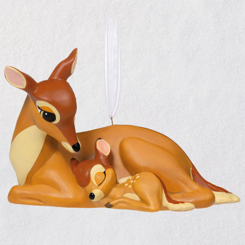 Disney Bambi A Mother's Love Porcelain Ornament