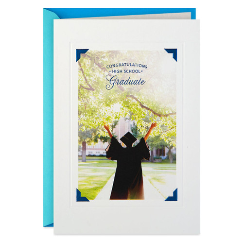 Follow Your Dreams High School Graduation Card