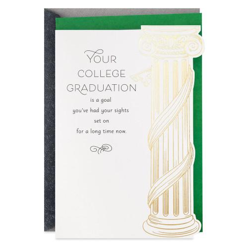 How Far You've Come College Graduation Card