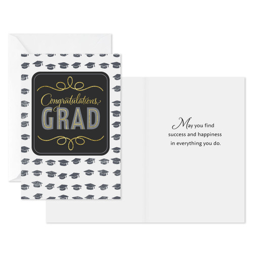 Assorted Graduation Day Graduation Cards, Pack of 8