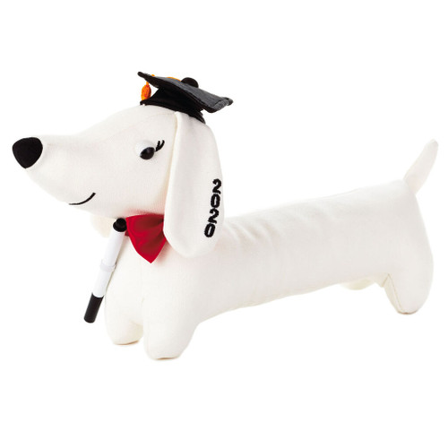 2020 Graduation Autograph Pup Stuffed Animal, 8.25""