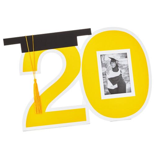 2020 Graduation Autograph Frame Poster, 25x15.5