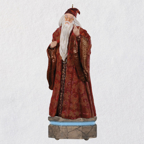 Harry Potter™ Collection Albus Dumbledore™ Ornament With Light and Sound