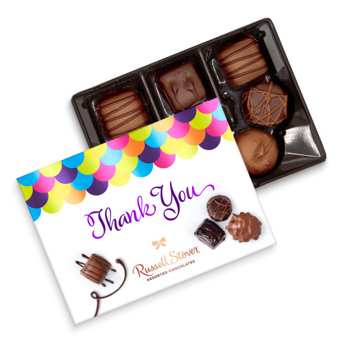 Russell Stover Assorted Chocolate Thank You Gift Box 4.6 oz