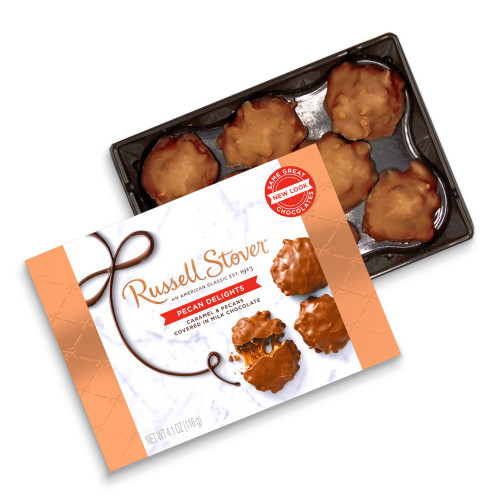 Russell Stover Pecan Delights Box 4.1 oz