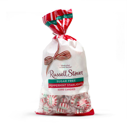 Russell Stover Sugar Free Starlight Mints bag 12 oz