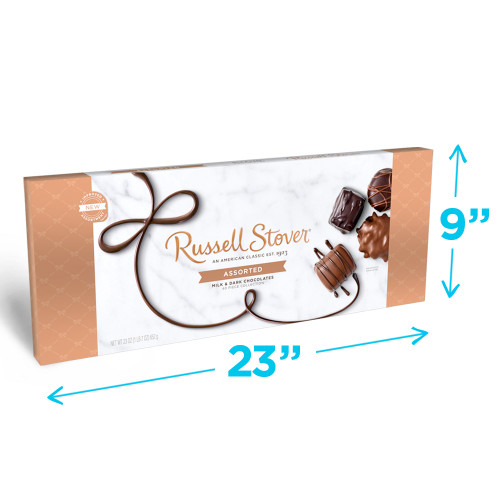 Russell Stover Assorted Chocolates 'Big Box' 23 oz