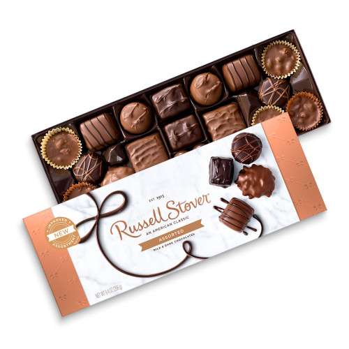 Russell Stover Assorted Chocolates Box 9.4 oz