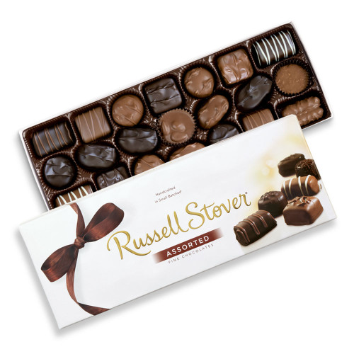 Russell Stover Assorted Chocolates Box 24 oz  *Exceptional Value!*