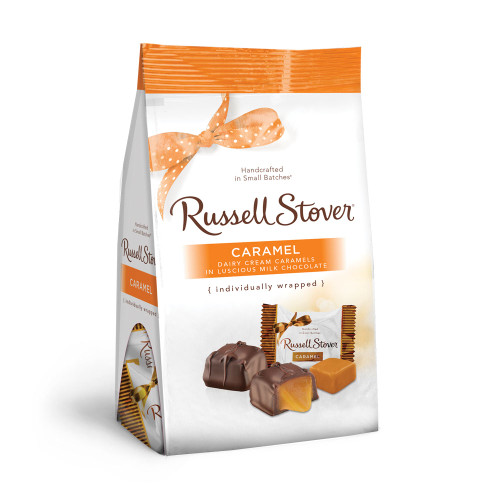 Russell Stover Caramels Gusset Bag 6 oz