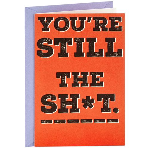 Annual Reminder Birthday Card