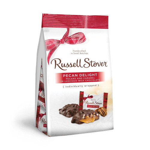 Russell Stover Pecan Delight Gusset Bag 5.4 oz