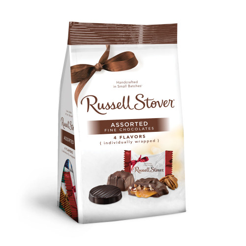 Russell Stover Assorted Chocolates Gusset Bag 6 oz