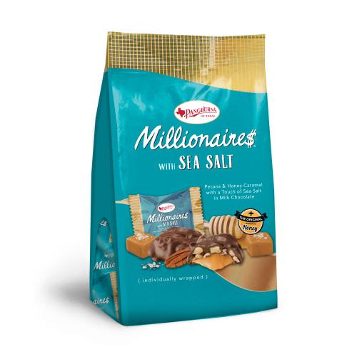 Russell Stover Pangburn's Millionaires Sea Salt Gusset Bag 5.4 oz