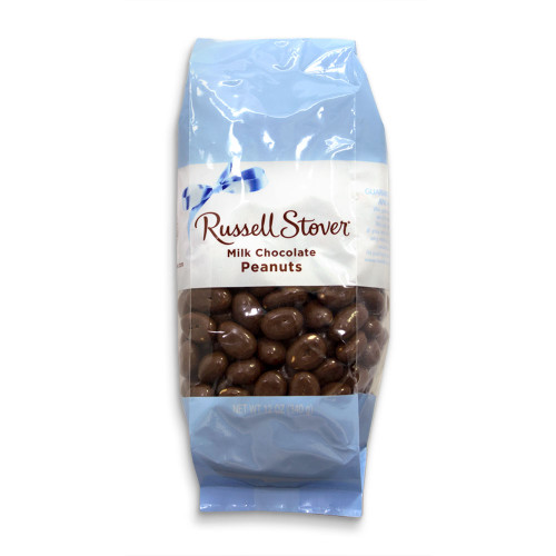 Russell Stover Milk Chocolate Peanuts Bag 12 oz