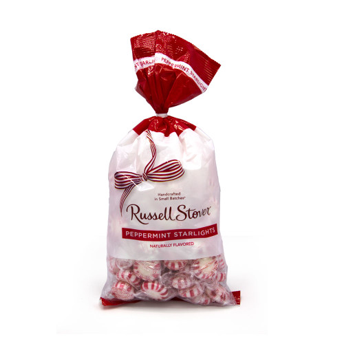 Russell Stover Peppermint Starlights Bag 12 oz