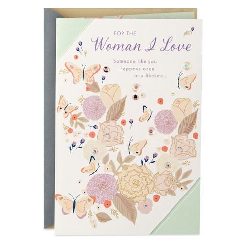 You're Once in a Lifetime Anniversary Card for Wife