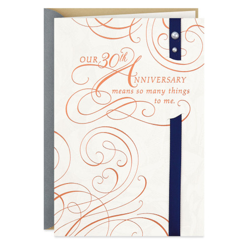 Another Year of Loving You 30th Anniversary Card
