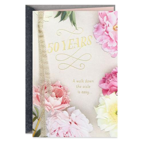 Rewarding Adventures 50th Anniversary Card