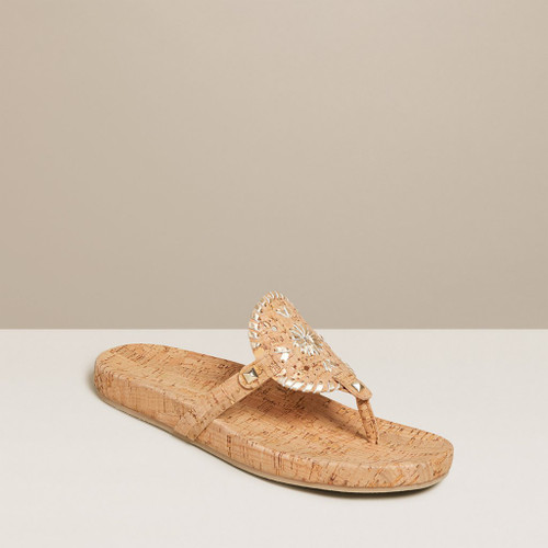 Georgica Cork Sandal Natural Jack Roger
