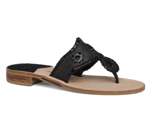 Jacks Flat Sandals Navy