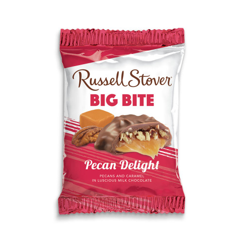 Russell Stover Pecan Delight Big Bite Bar 2 oz