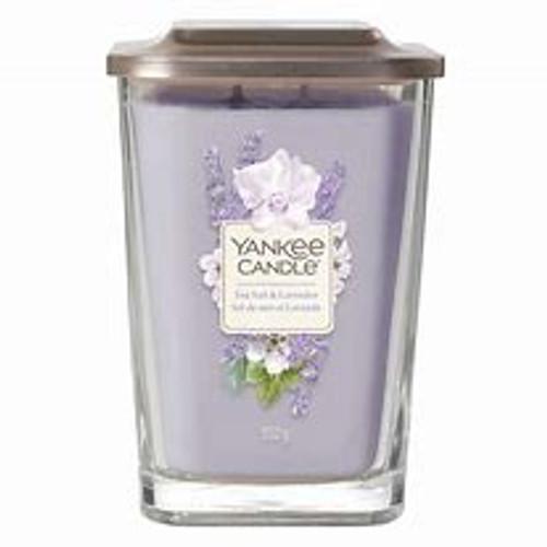 Yankee Candle Elevations Sea Salt & Lavendar 19.5 oz