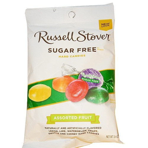 Russell Stover Sugar Free Hard Candies Bag 3.4 oz
