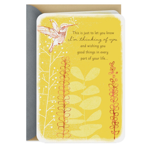 Wishing You Good Things In Your Life Thinking Of You Card