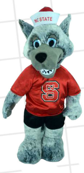 NCSU Mr Wuf Plush 22""