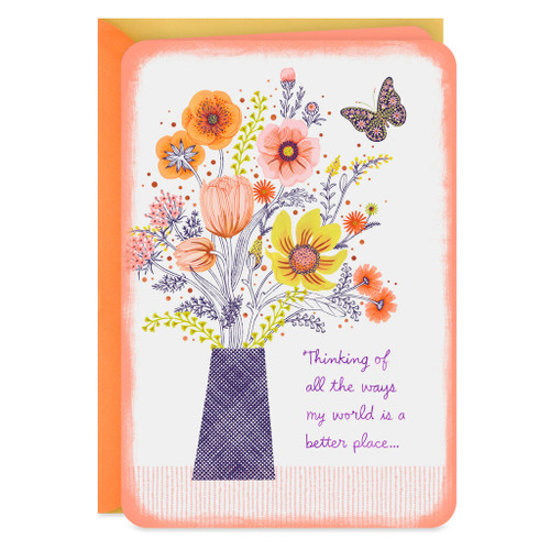 A Better Place Because of You Friendship Card