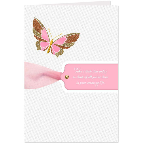 All You've Done in Your Amazing Life Birthday Card