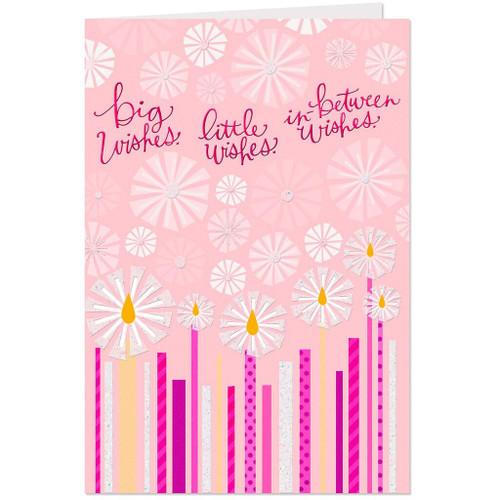 Birthday Candle Wishes Birthday Card