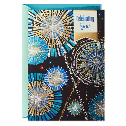 Fireworks Display Birthday Card