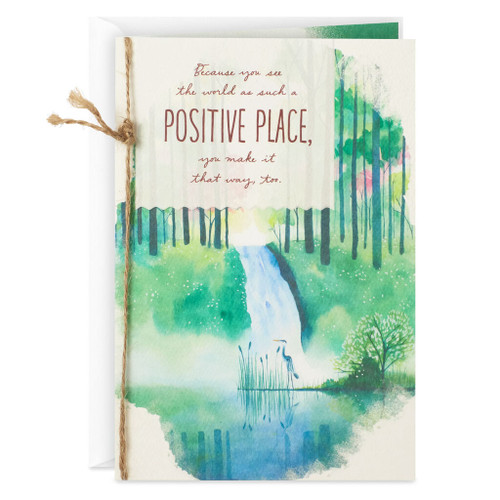A Positive Place Birthday Card