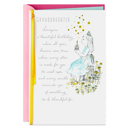 Brightest and Best Birthday Card for Granddaughter