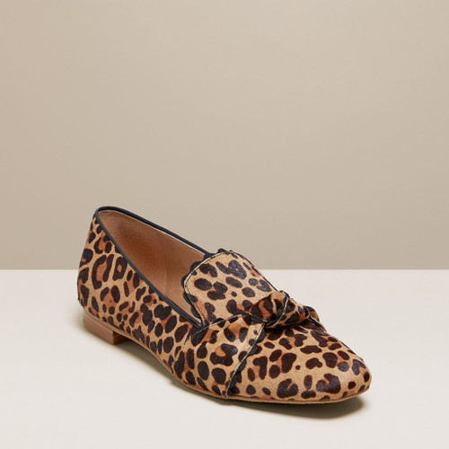 Holly Haircalf Loafer Leopard