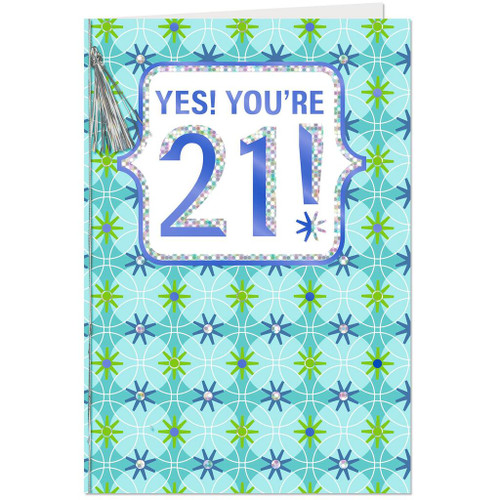 A Fun Day Just For You 21st Birthday Card
