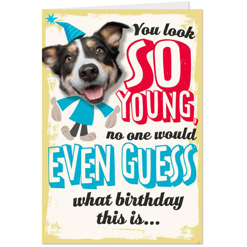 You Look So Young Funny 60th Birthday Card